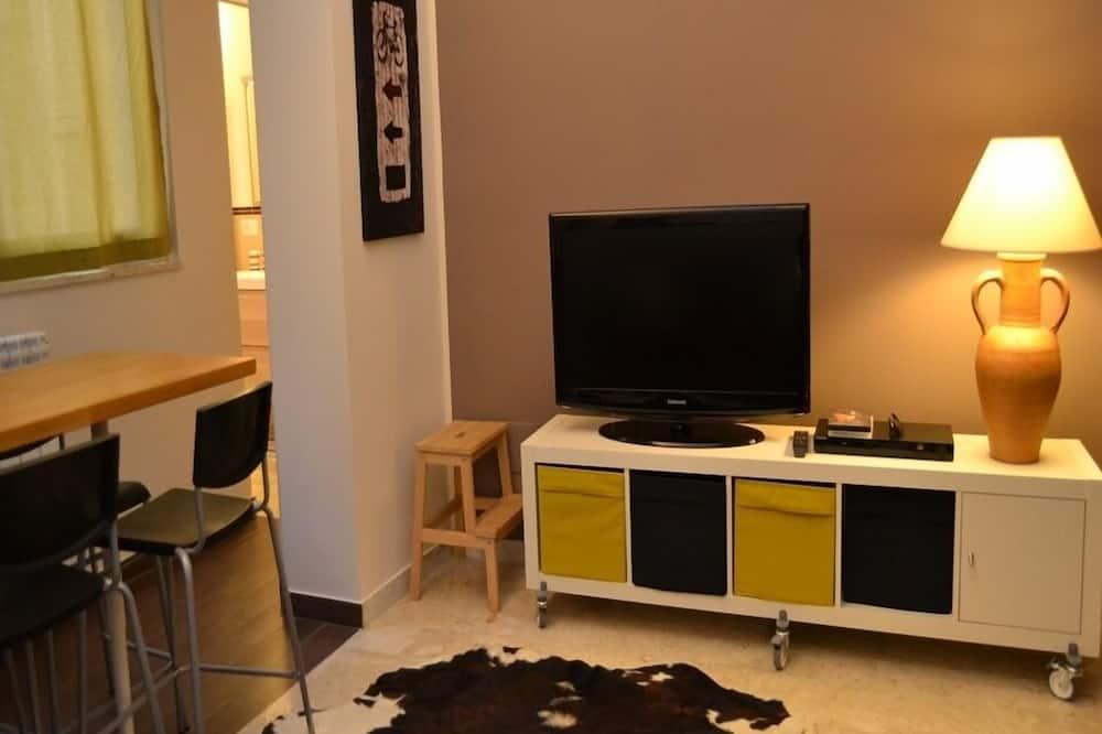 Appartement, 1 chambre, dans les dépendances - Coin séjour