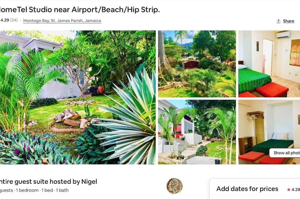 Home-tel Studio Apartment Close to Airport + Beach + Hip Strip + Downtown