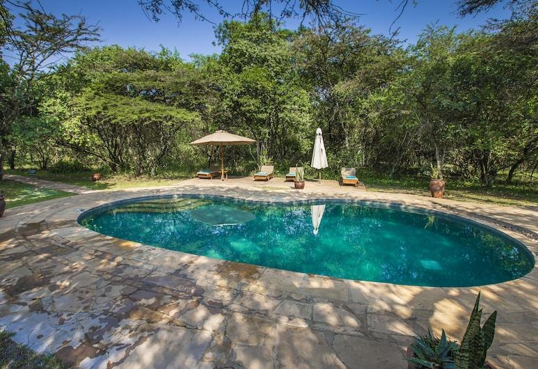 كارين بليكسين كامب, Maasai Mara, حمام سباحة