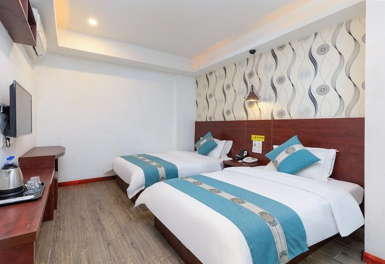 Yimi Hotel Guangzhou Exhibition Center, Guangzhou, Standard Twin Room, No Windows, Bilik Tamu
