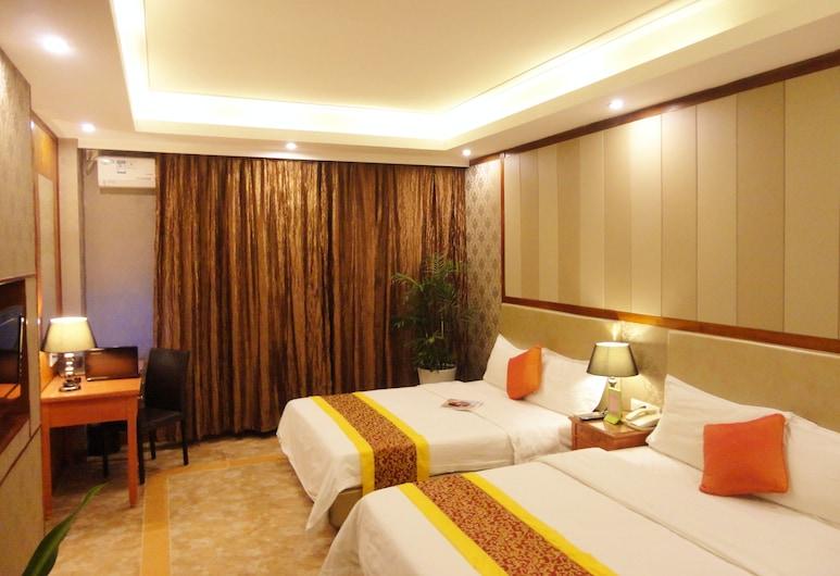 Shenzhen Oliven Hotel, Shenzhen, Business Twin Room, Guest Room
