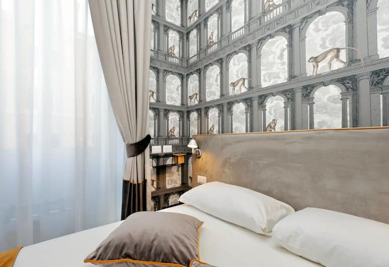 Opera 58, Rome, Deluxe Double or Twin Room, City View, Guest Room