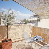 Start your Voyage from this Acropolis view Studio - Balcony