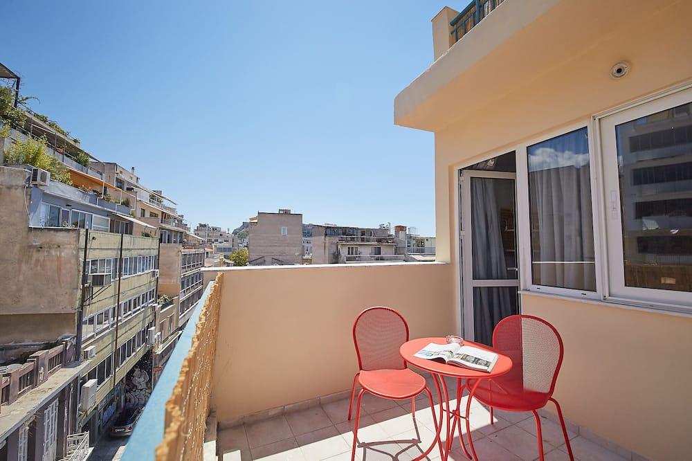 Athens Loft with Acropolis view - Balcony