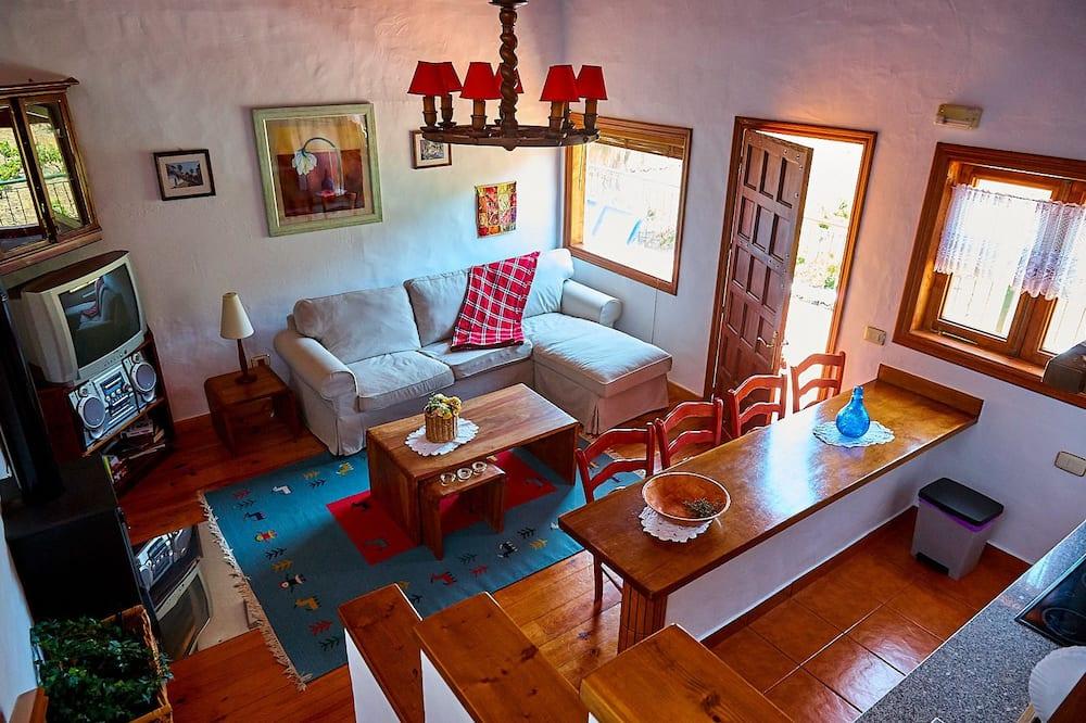 木屋, 2 間臥室, 露台 - 客廳