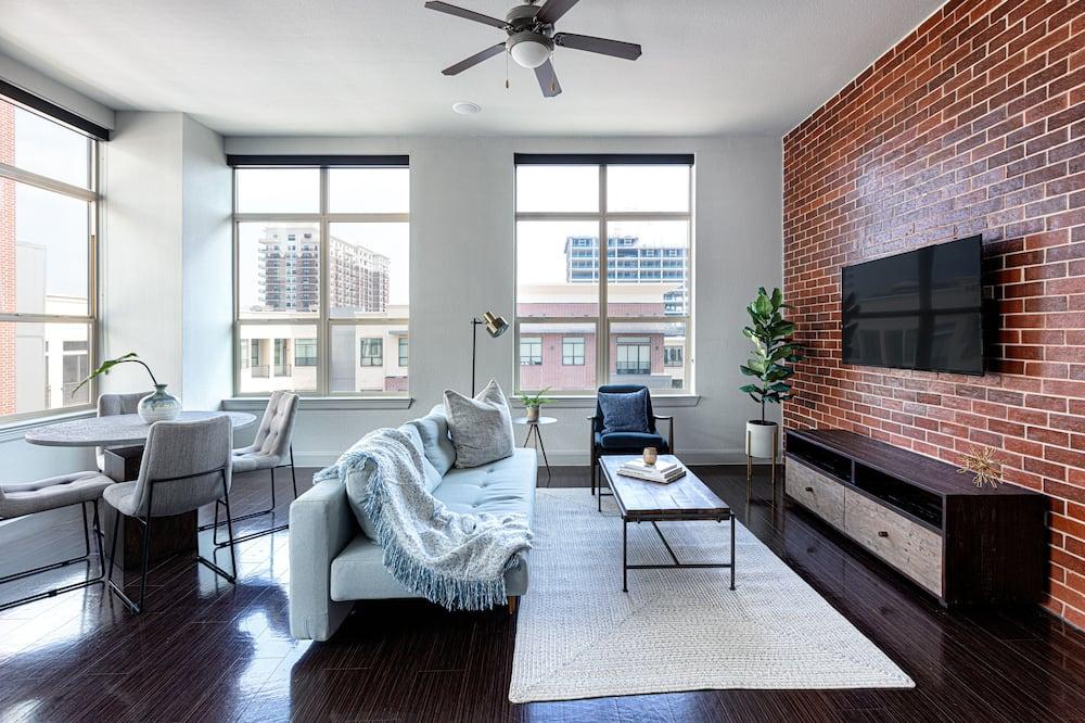 豪華公寓, 2 間臥室, 非吸煙房, 2 間浴室 - 客廳