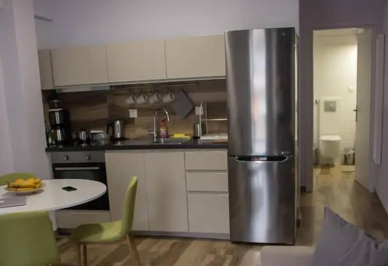 Cozy penthouse in the heart of Thessaloniki, Thessaloniki, Appartement, Woonkamer