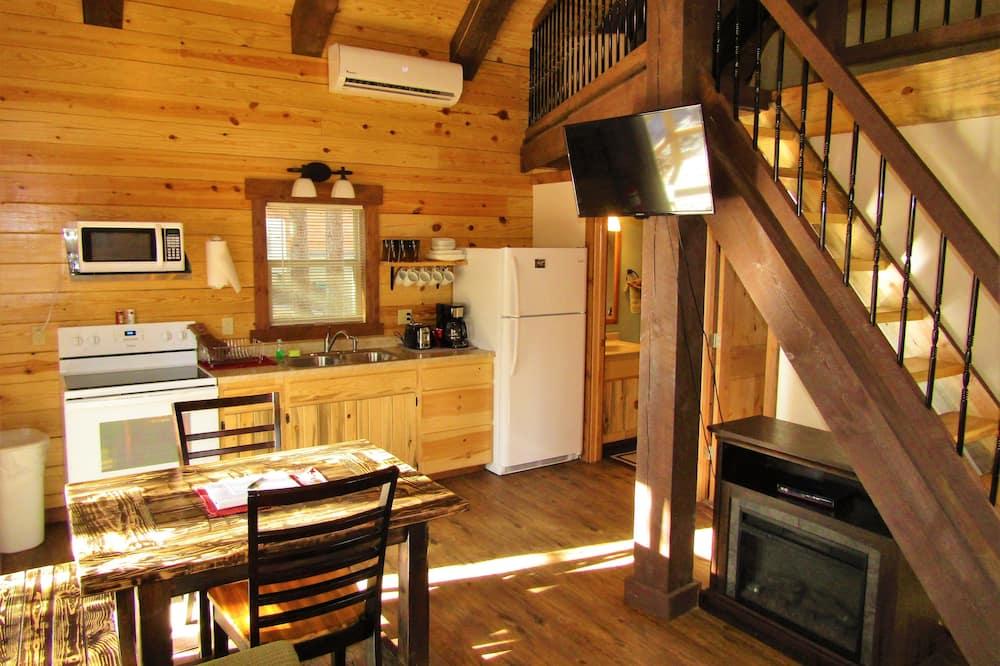 Családi kunyhó, 2 hálószobával - Nappali rész