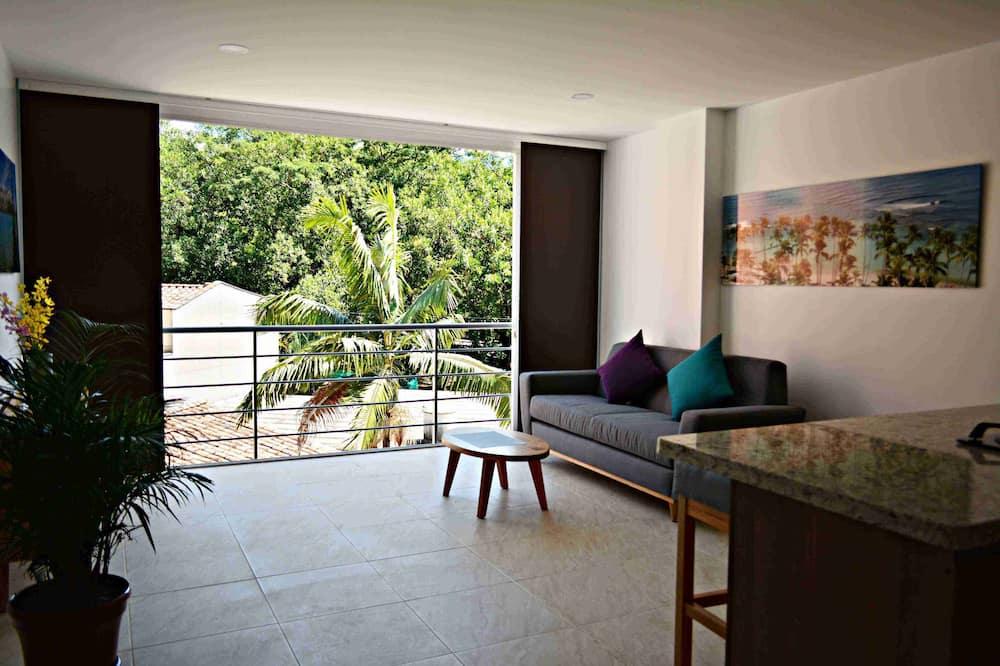 Business-Apartment, Stadtblick, zum Garten hin - Profilbild
