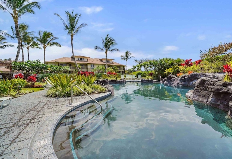 Fairway Villas L21 at the Waikoloa Beach Resort, Waikoloa, בריכה