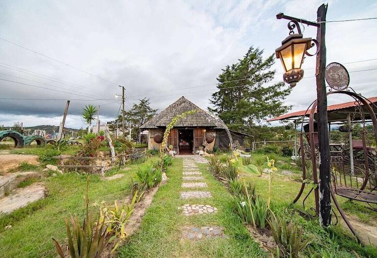 Camping de Los Peroles, Huehuetenango, Sisäänkäynti
