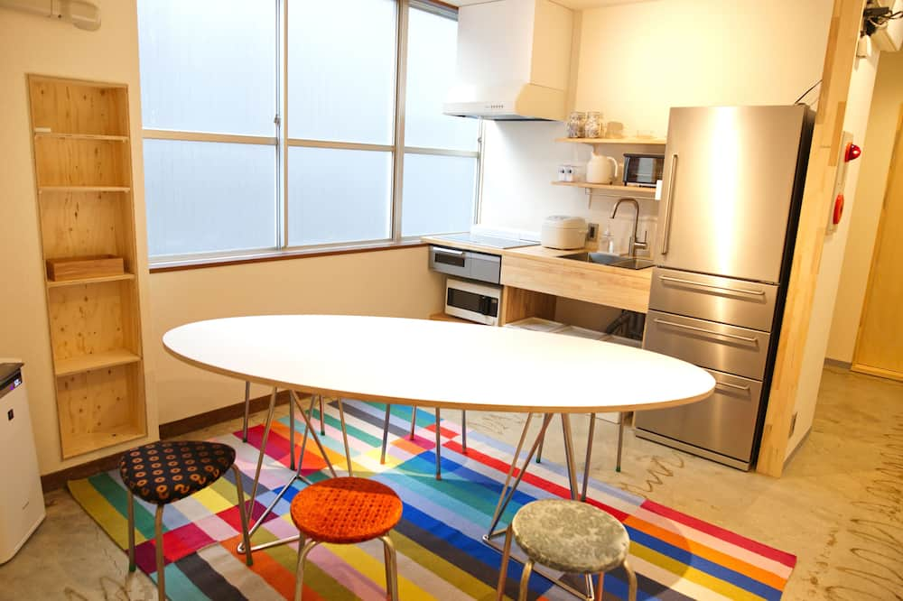 Mixed Dormitory Room with work space, Non Smoking (Single use) - In-Room Dining