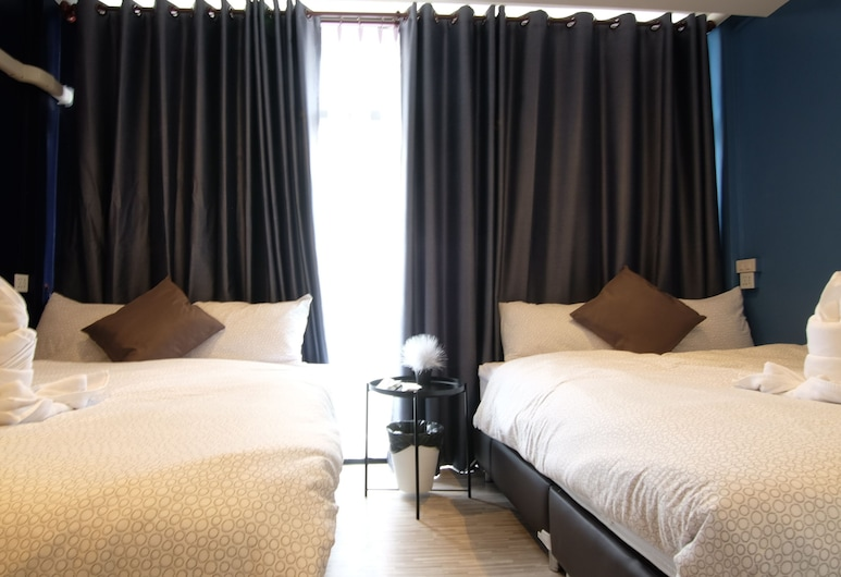 Sleep With Me Too - BTS Phra Khanong, Μπανγκόκ, Standard Τετράκλινο Δωμάτιο, Δωμάτιο επισκεπτών