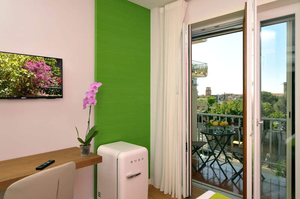 豪華客房, 1 張標準雙人床, 露台 (Fuchsia) - 露台