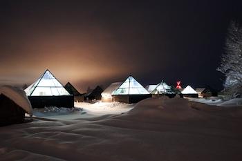 Image de Aurora Pyramid Glass Igloos à Kittilä