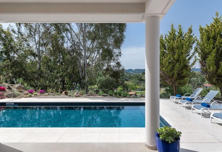 HillTop Luxury Villa, Rodos, Villa, 4 soverom, privat basseng, Privat basseng