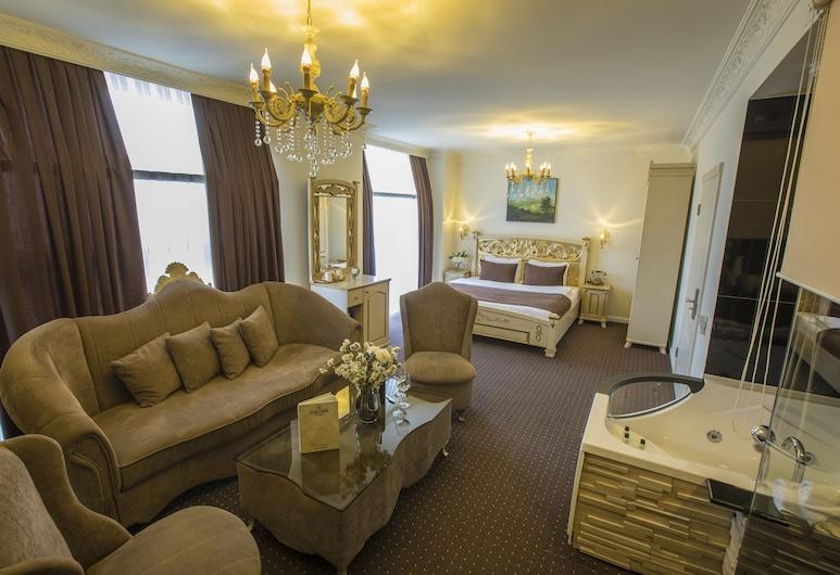 Golden Hotel, Priština, Suite Deluxe, Habitación