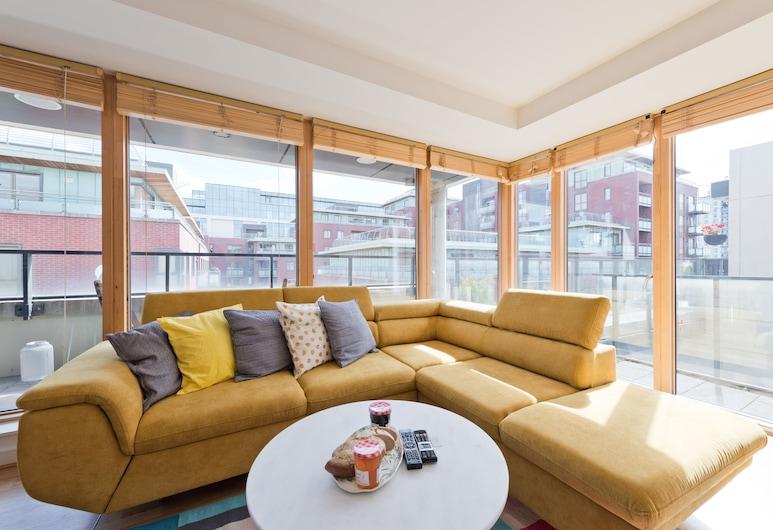 Sweet Inn - Hanover Wharf, Δουβλίνο, Διαμέρισμα, 1 Υπνοδωμάτιο, Καθιστικό