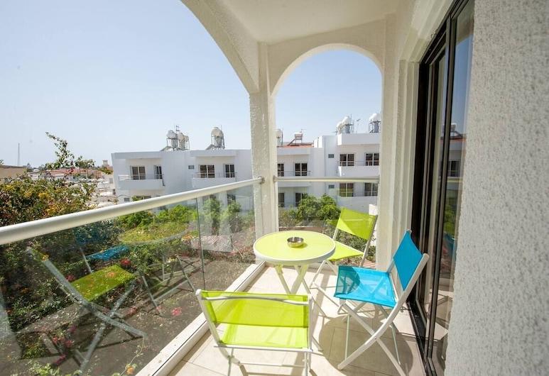 Ha.De.Co. Holiday Apts, Ayia Napa, Apartament typu Exclusive, 2 sypialnie, widok na ocean, Balkon