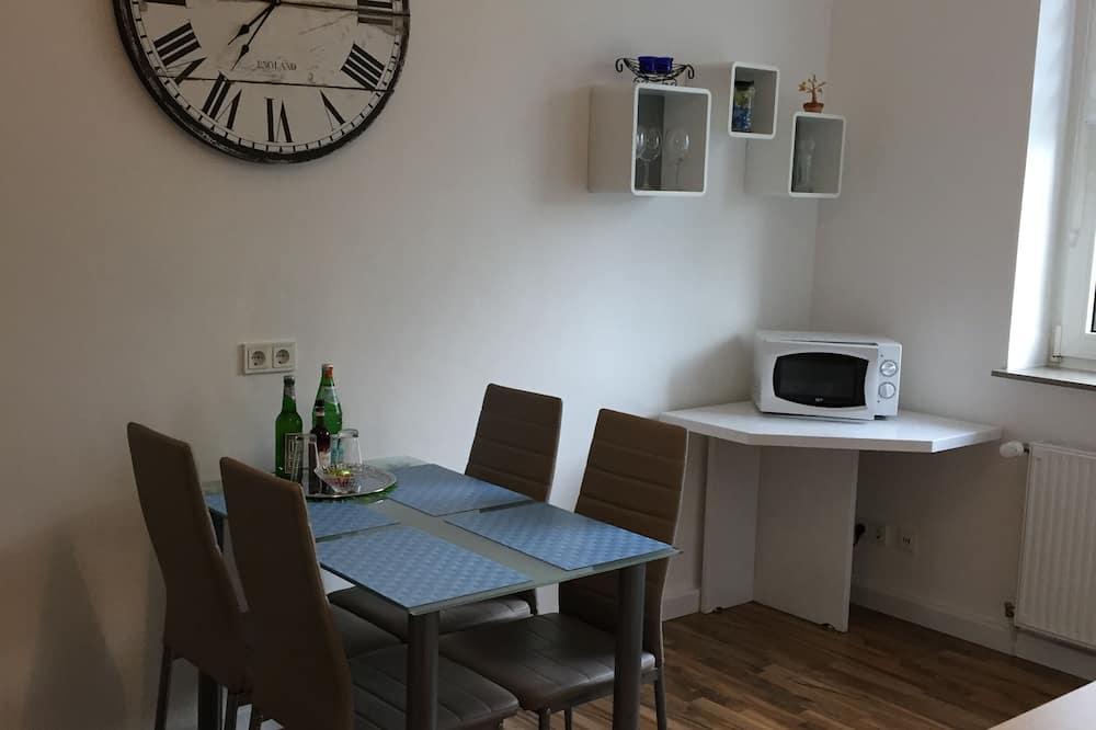 Apartamento, vistas al jardín - Comida en la habitación