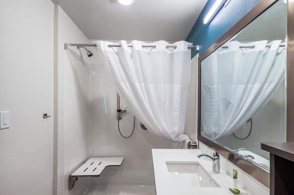 客房, 2 張加大雙人床, 無障礙, 非吸煙房 - 浴室