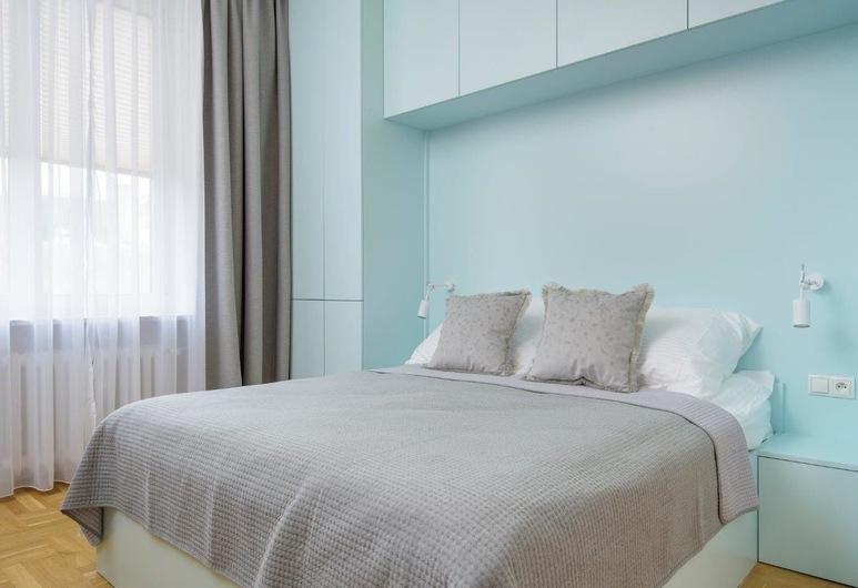 Novis Apartments Przy Rotundzie, Varsova, Deluxe-huoneisto, Huone