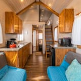 Ferienhütte (Tiny House Duke) - Wohnzimmer