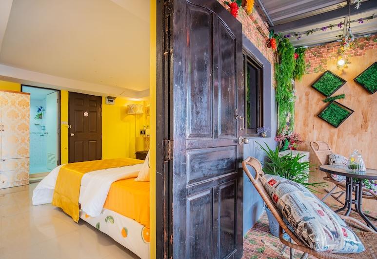 Mėnulis Coolly House Patong, Patong, Deluxe - kahden hengen huone, Kaupunkinäköala, Lasten leikkialue sisällä