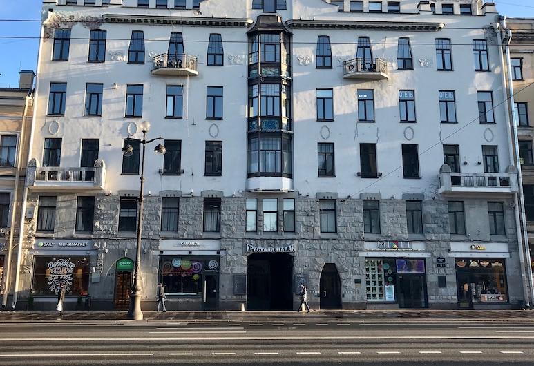 Мини-отель «Невский 72», Санкт-Петербург, Фасад отеля