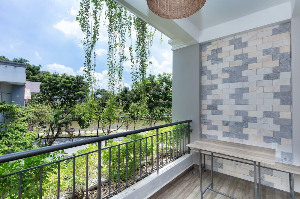 Deluxe-Apartment, 4Schlafzimmer, Nichtraucher - Balkon