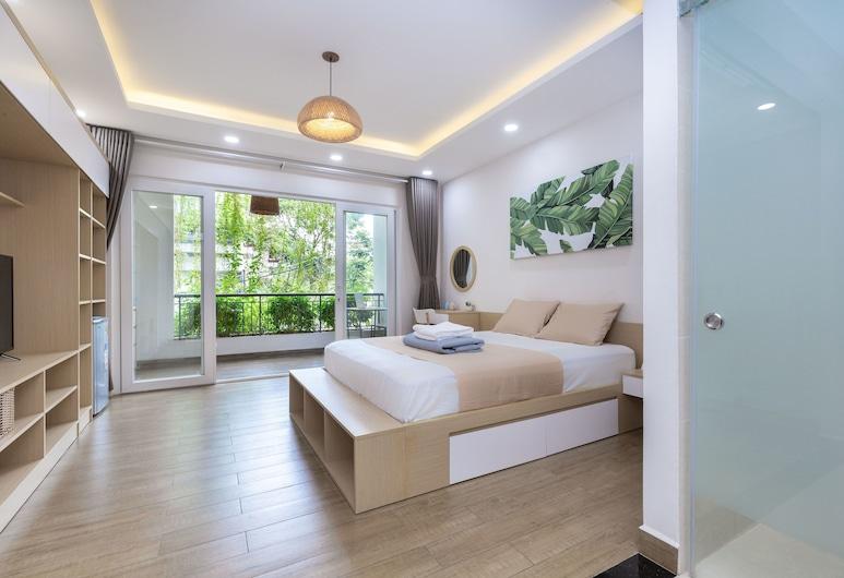 Cozrum Homes Yoga Corner, Πόλη του Χο Τσι Μινχ, Deluxe Διαμέρισμα, 4 Υπνοδωμάτια, Μη Καπνιστών, Περιοχή καθιστικού