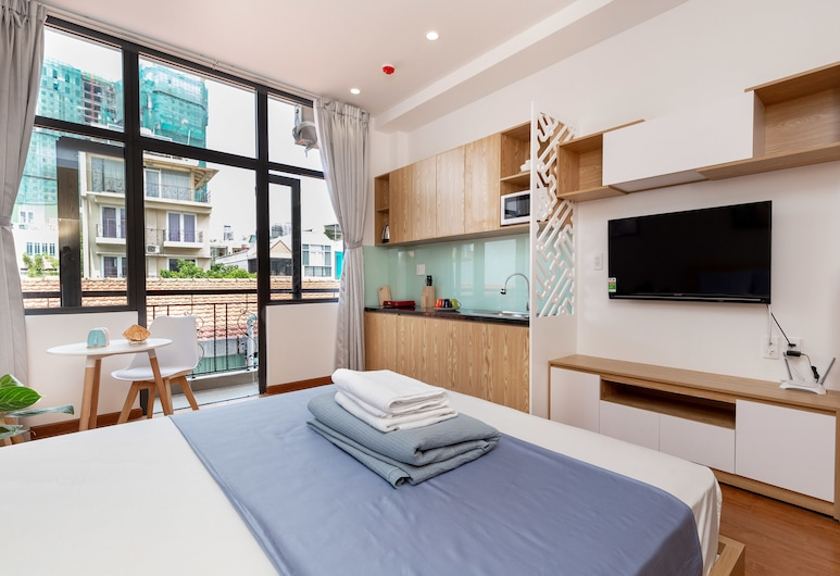 Cozrum Homes Ly Chinh Thang, Ho Chi Minh City, Studio Basic, Vardagsrum