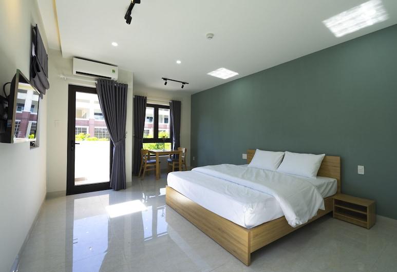 文公寓飯店, 峴港, 豪華公寓, 陽台, 客房