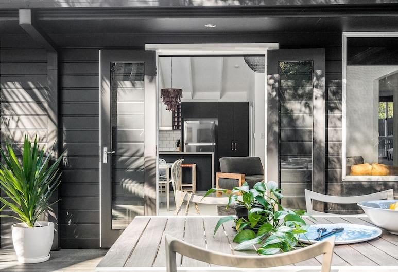 Black Star, Byron Bay, Casa de diseño, 3 habitaciones, Terraza o patio