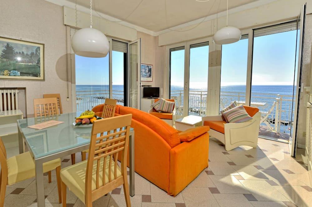 Departamento clásico - Sala de estar