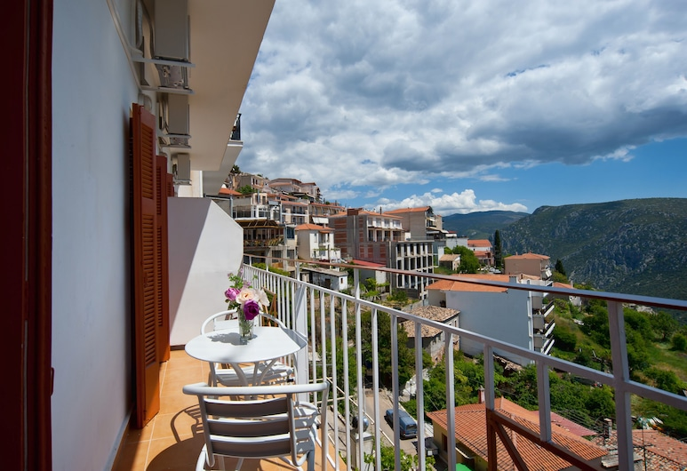Hotel Athina, Delphi, Family Room, Sea View, Balcony