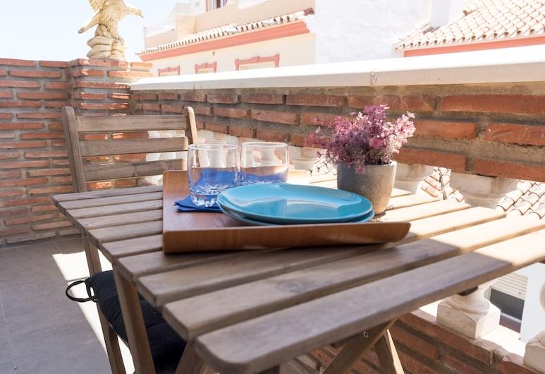 MalagaSuite Mijas Sun&Beach Apartment, מיחאס, דירה, 2 חדרי שינה, מרפסת/פטיו