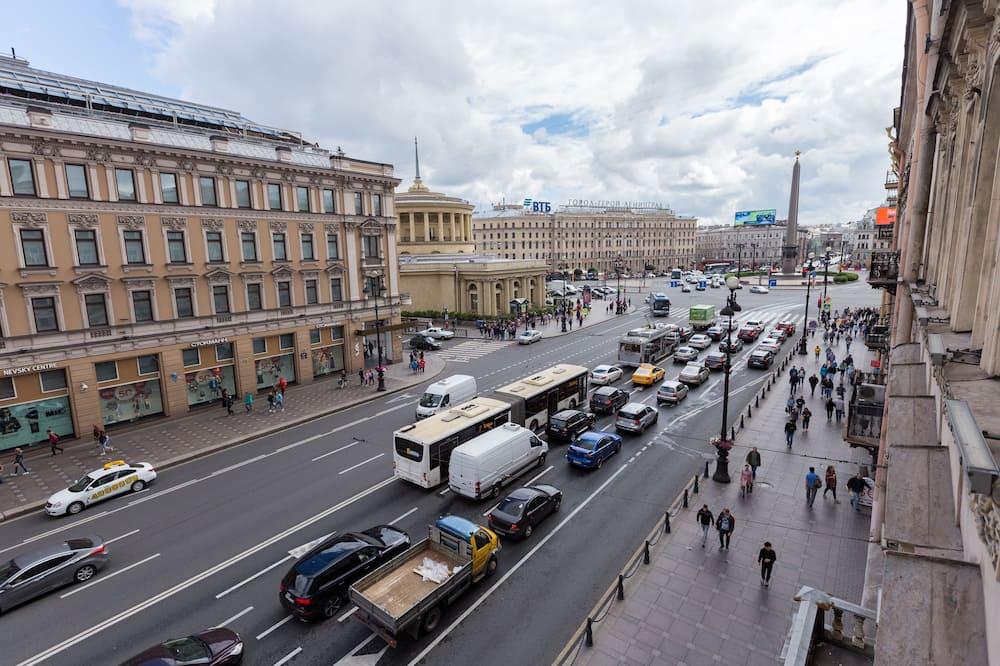 Panoramic külaliskorter, 2 magamistoaga, külmkapp ja mikrolaineahi, vaade linnale (37) - Linnavaade