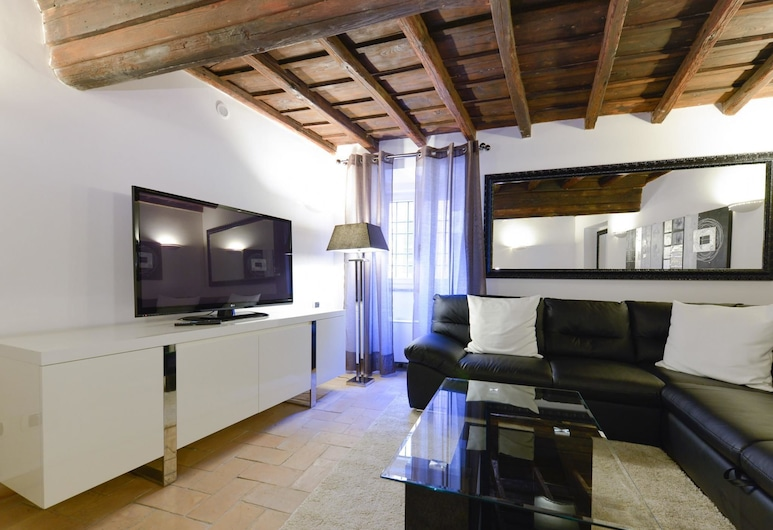Ibernesi 2 Apartment, Rome, Apartment, 2 Bedrooms, Living Room