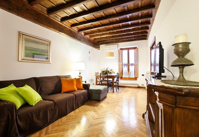 歐爾錫尼山 3 房 2 衛酒店 - 全空調, Rome, 公寓 (3 Bedrooms), 客廳