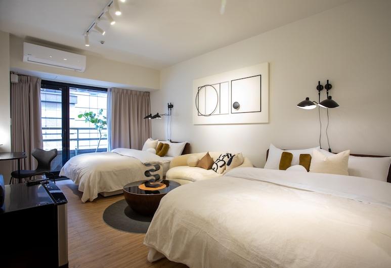 Sleep Inn B&B, Taipei, Standaard vierpersoonskamer, Kamer