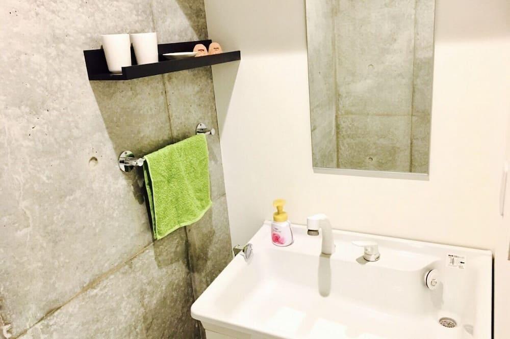 Doppelzimmer (204) - Badezimmer