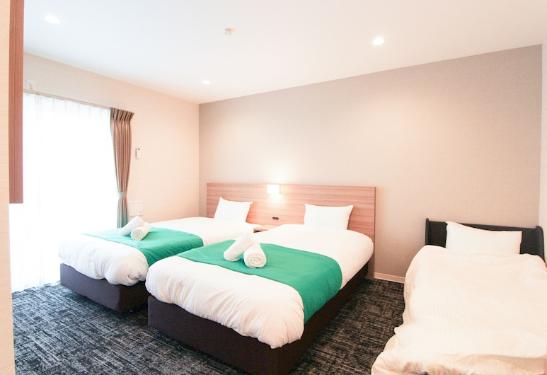 M-1 Tokyo Haneda 5-2, Tokyo, Deluxe Apartment with Wide Single Beds and Sofa Bed, Room
