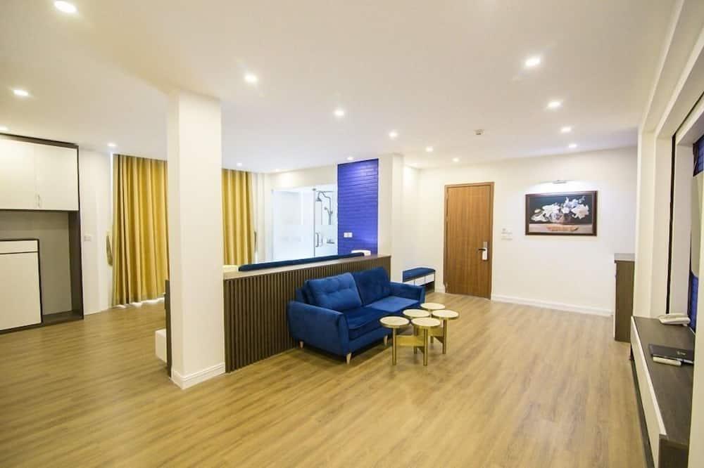 Štúdiový apartmán typu Executive - Obývacie priestory