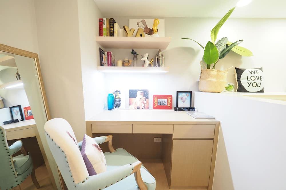 Habitación Deluxe con 1 cama doble o 2 individuales - Sala de estar
