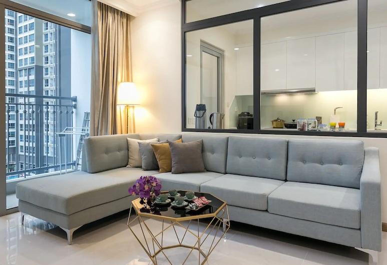 Bayhomes Central Park Serviced Apartment, Ho Chi Minh City, Apartament rodzinny, 3 sypialnie, Powierzchnia mieszkalna