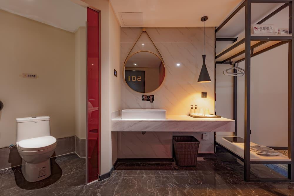 Design Tek Büyük Yataklı Oda - Banyo