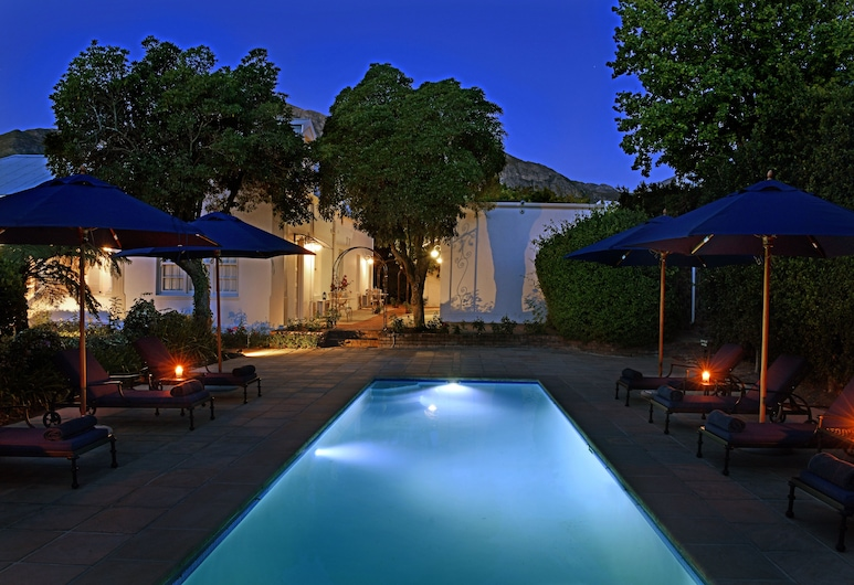 Les Chambres , Franschhoek, Outdoor Pool