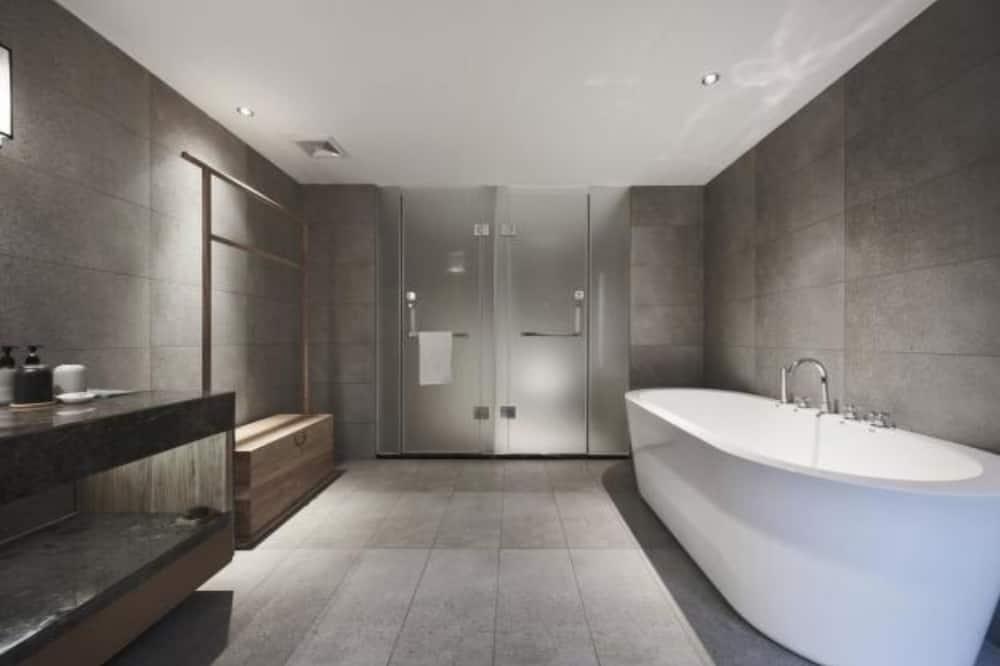 隱仕大床房/僅限中國大陸賓客) - 浴室