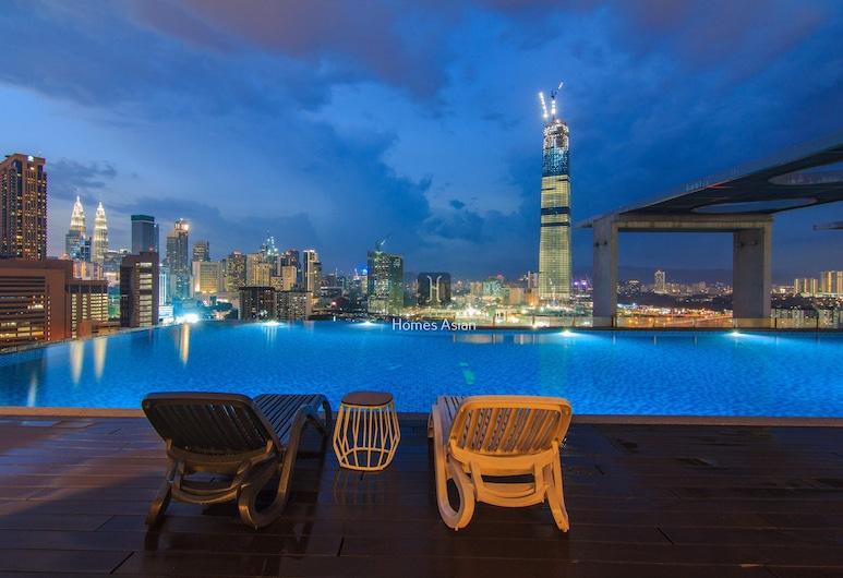 D'majestic Place by Homes Asian 3, Kualalumpura, Panorāmas baseins
